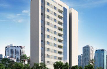 Apartamentos de 2, 3 e 4 quartos