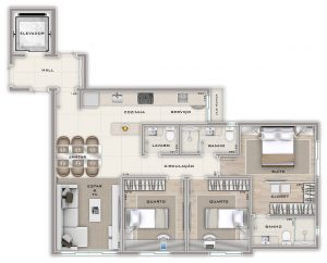 apartamento na serra